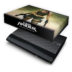 PS3 Super Slim Capa Anti Poeira - Tomb Raider