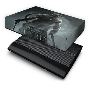 PS3 Super Slim Capa Anti Poeira - Skyrim