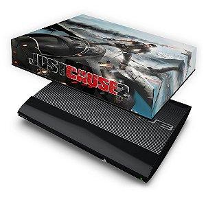 PS3 Super Slim Capa Anti Poeira - Just Cause 2