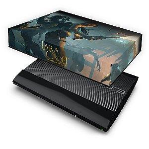 PS3 Super Slim Capa Anti Poeira - Lara Tomb Raider