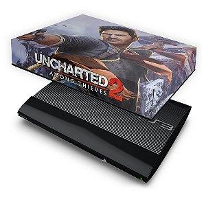 PS3 Super Slim Capa Anti Poeira - Uncharted 2