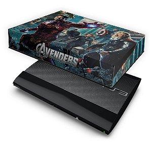PS3 Super Slim Capa Anti Poeira - Avengers Vingadores