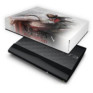 PS3 Super Slim Capa Anti Poeira - Assassins Creed Brotherhood #B