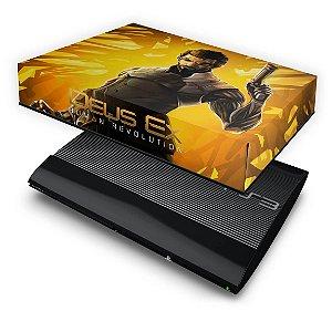 PS3 Super Slim Capa Anti Poeira - Deus Ex Human