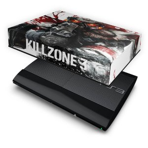 PS3 Super Slim Capa Anti Poeira - Killzone 3