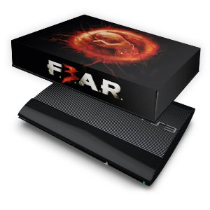 PS3 Super Slim Capa Anti Poeira - F3ar Fear 3