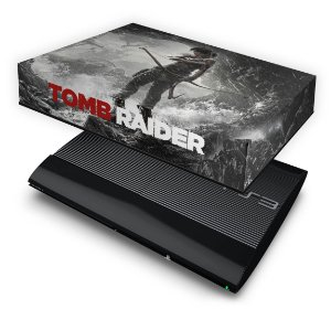 PS3 Super Slim Capa Anti Poeira - Tomb Raider 3