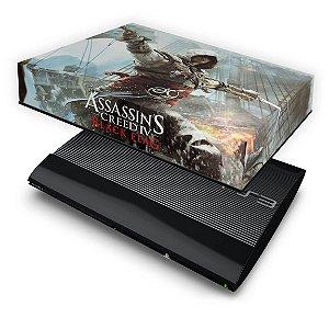 PS3 Super Slim Capa Anti Poeira - Assassins Creed IV Black Flag