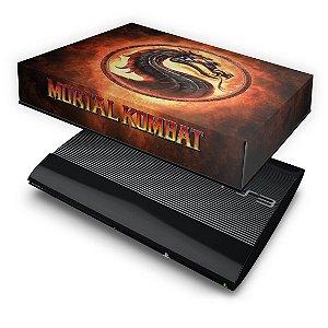 PS3 Super Slim Capa Anti Poeira - Mortal Kombat