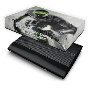 PS3 Super Slim Capa Anti Poeira - Splinter Cell Blacklist