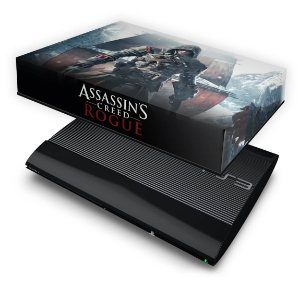 PS3 Super Slim Capa Anti Poeira - Assassins Creed Rogue