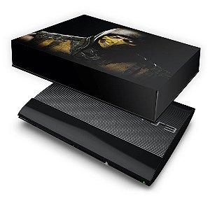 PS3 Super Slim Capa Anti Poeira - Mortal Kombat X Scorpion