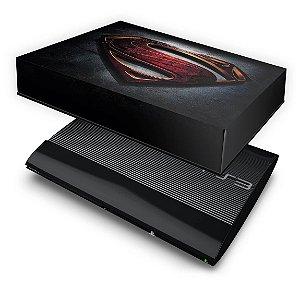 PS3 Super Slim Capa Anti Poeira - Superman