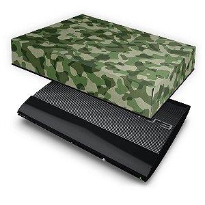 PS3 Super Slim Capa Anti Poeira - Camuflado #b