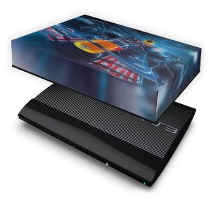 PS3 Super Slim Capa Anti Poeira - Formula 1