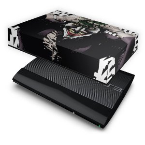 PS3 Super Slim Capa Anti Poeira - Joker Coringa