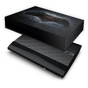 PS3 Super Slim Capa Anti Poeira - Batman Vs Superman