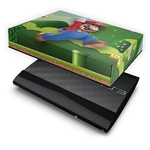 PS3 Super Slim Capa Anti Poeira - Mario & Luigi