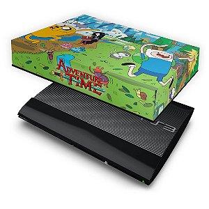 PS3 Super Slim Capa Anti Poeira - Hora De Aventura