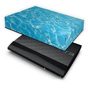 PS3 Super Slim Capa Anti Poeira - Aquático Água