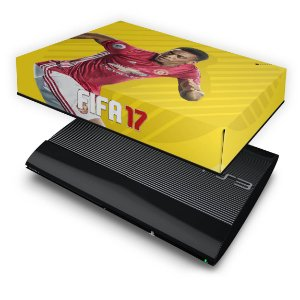 PS3 Super Slim Capa Anti Poeira - Fifa 17