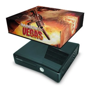 Xbox 360 Slim Capa Anti Poeira - Rainbow Six Vegas