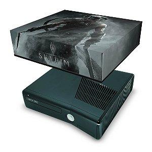 Xbox 360 Slim Capa Anti Poeira - Skyrim