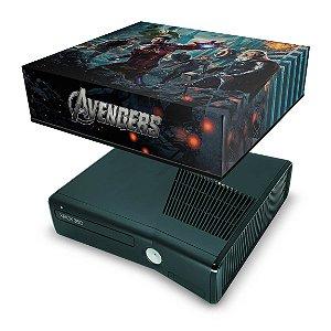 Xbox 360 Slim Capa Anti Poeira - Avengers Vingadores