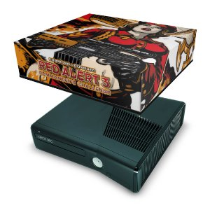Xbox 360 Slim Capa Anti Poeira - Command And Conquer