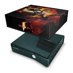 Xbox 360 Slim Capa Anti Poeira - Resident Evil 5