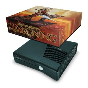 Xbox 360 Slim Capa Anti Poeira - Reckoning