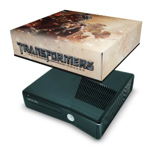 Xbox 360 Slim Capa Anti Poeira - Transformers Revenge