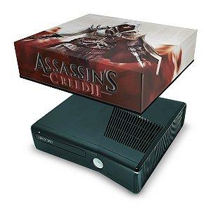 Xbox 360 Slim Capa Anti Poeira - Assassins Creed 2