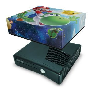Xbox 360 Slim Capa Anti Poeira - Super Mario