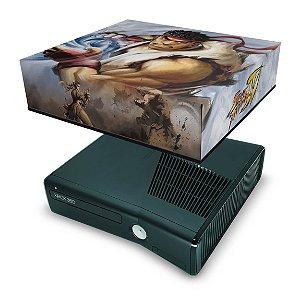 Xbox 360 Slim Capa Anti Poeira - Street Fighter 4 #b