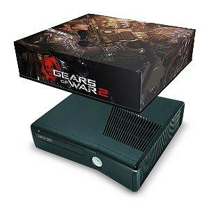 Xbox 360 Slim Capa Anti Poeira - Gears Of War 2