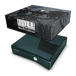 Xbox 360 Slim Capa Anti Poeira - Aliens Vs Predators