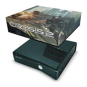 Xbox 360 Slim Capa Anti Poeira - Crysis 2