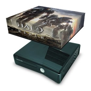Xbox 360 Slim Capa Anti Poeira - Halo Reach