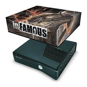 Xbox 360 Slim Capa Anti Poeira - Infamous