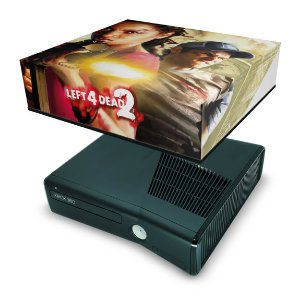 Xbox 360 Slim Capa Anti Poeira - Left 4 Dead 2