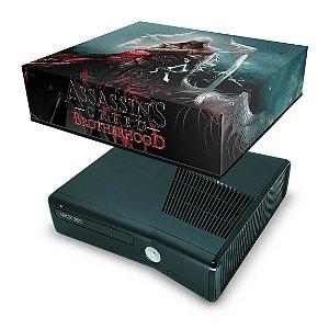 Xbox 360 Slim Capa Anti Poeira - Assassins Creed Brotherwood #C