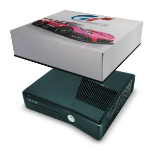 Xbox 360 Slim Capa Anti Poeira - Gran Turismo