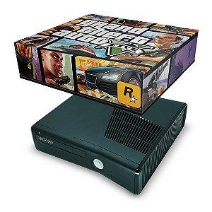 Xbox 360 Slim Capa Anti Poeira - Gta V
