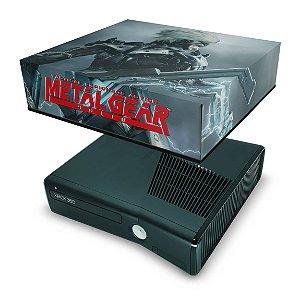 Xbox 360 Slim Capa Anti Poeira - Metal Gear Solid Rising