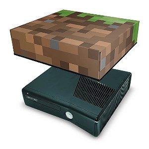 Xbox 360 Slim Capa Anti Poeira - Minecraft