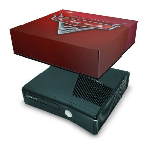 Xbox 360 Slim Capa Anti Poeira - Carros
