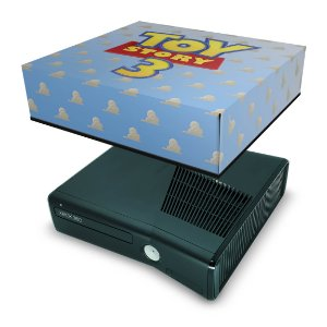 Xbox 360 Slim Capa Anti Poeira - Toy Story