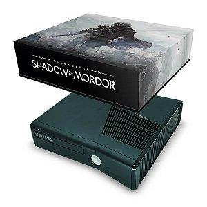 Xbox 360 Slim Capa Anti Poeira - Shadow Of Mordor