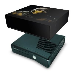 Xbox 360 Slim Capa Anti Poeira - Mortal Kombat X #a